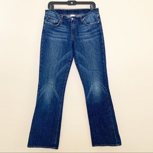 Lucky Brand Dungarees Mid rise flare size 10/30